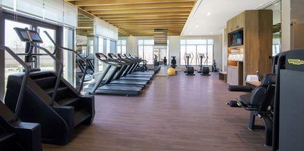 Gym på hotell Saadiyat Rotana Resort & Villas i Abu Dhabi, Förenade Arabemiraten.