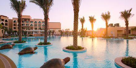 Pool på hotell Saadiyat Rotana Resort & Villas i Abu Dhabi, Förenade Arabemiraten.