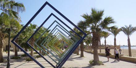 Strandpromenaden i Sahl Hasheesh.