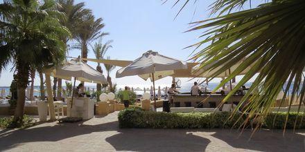 Strandpromenaden i Sahl Hasheesh, Egypten.
