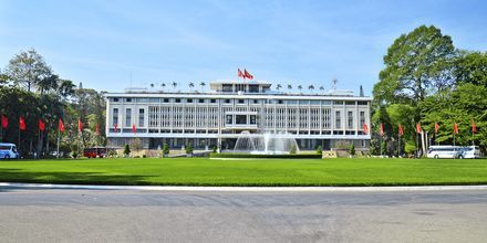 Presidentpalatset i Saigon, Vietnam.