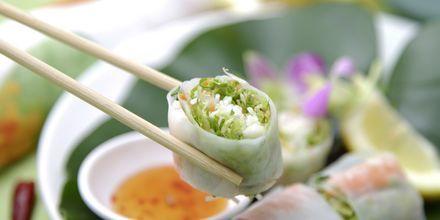 Vietnamesiska vårrullar.