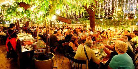 Restaurang i Saigon, Vietnam.
