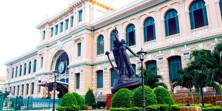 Postkontoret i Saigon, Vietnam.