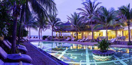 Poolen på Sailing Club Mui Ne Resort i Phan Thiet, Vietnam.