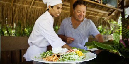 Matlagningskurs på Sailing Club Mui Ne Resort i Phan Thiet, Vietnam.