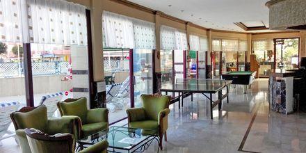 Lobbyn på hotell Sailor i Alanya, Turkiet.