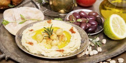 God och hälsosam mat i Salalah, Oman.
