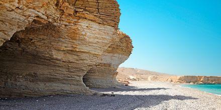 Mughsaystranden, ca fyra mil utanför Salalah i Oman.