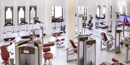 Gym på Salalah Rotana Resort i Salalah, Oman.