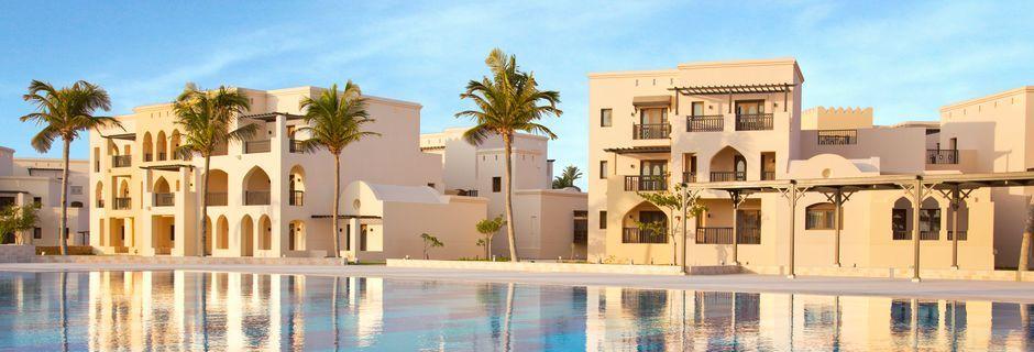 Poolområde på Salalah Rotana Resort i Salalah, Oman.