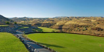 Golfbanorna vid Salobre Hotel & Resort på Gran Canaria.