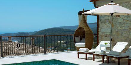 Trerumsvilla med privat pool på Salvator Hotel Villas & Spa i Parga.