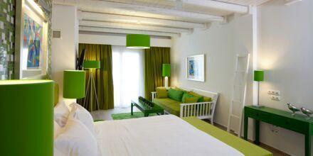 Familjerum på Salvator Hotel Villas & Spa i Parga, Grekland.