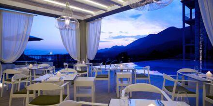 Restaurang på Salvator Hotel Villas & Spa i Parga, Grekland.