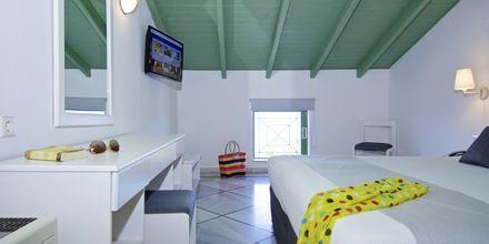 Familjerum på hotell  Samaina Inn i Karlovassi, Samos.