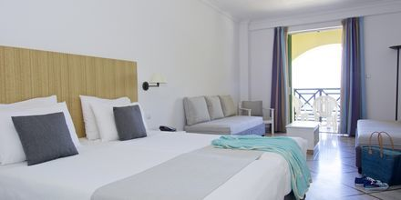 Dubbelrum på hotell Samaina Inn i Karlovassi på Samos.