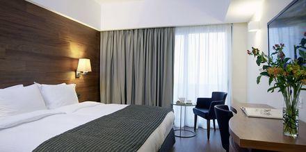 Dubbelrum på hotell Samaria i Chania stad, Kreta.