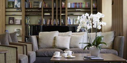 Lobby på hotell Samaria i Chania stad, Kreta.