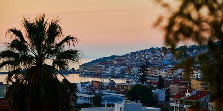 Samos stad på Samos, Grekland.
