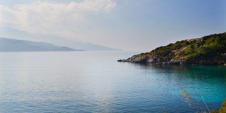 En semester på Samos bjuder på kristallklart vatten.