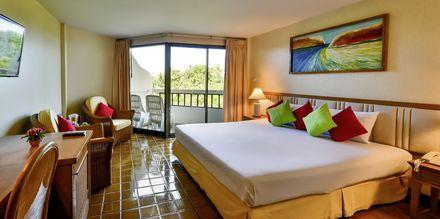 Dubbelrum på hotell Samui Natien Resort på Koh Samui, Thailand.