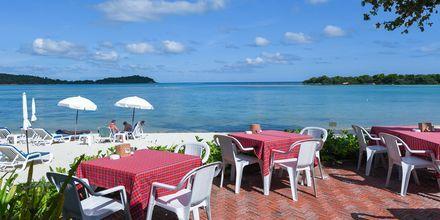 Strandrestaurangen på Samui Natien Resort på Koh Samui, i Thailand.