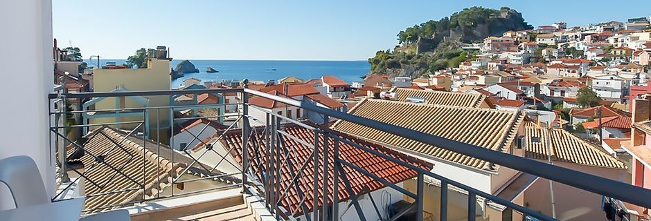 Hotell San Nectarinos i Parga.