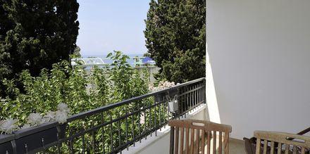 Tvårumslägenhet på hotell Sanja i Makarska, Kroatien.