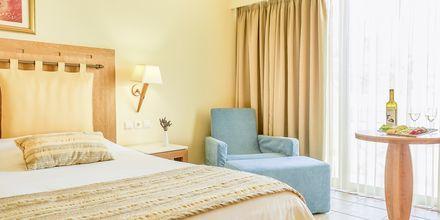 Dubbelrum på hotell Santa Marina Plaza på Kreta, Grekland.