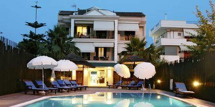 Poolen på hotell Santa Maura på Lefkas, Grekland.