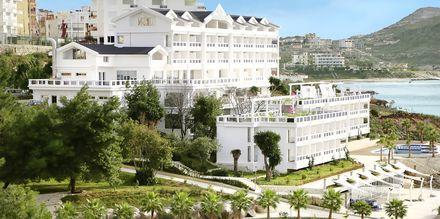 Hotell Santa Quaranta i Saranda, Albanien.