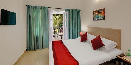 Dubbelrum på hotell Santiago Goa i Indien.