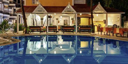Restaurang på hotell Santiago Goa i Indien.