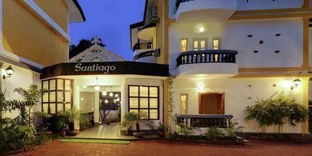 Hotell Santiago Goa i Indien.