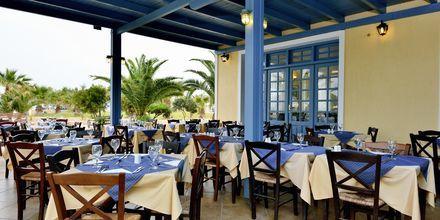 Restaurang på Santo Miramare Resort på Santorini, Grekland.
