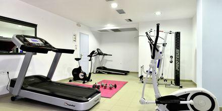 Gym på Santo Miramare Resort på Santorini, Grekland.