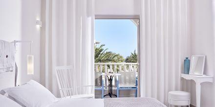 Dubbelrum på Santo Miramare Resort på Santorini, Grekland.