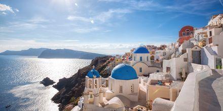 Santorini, Grekland.