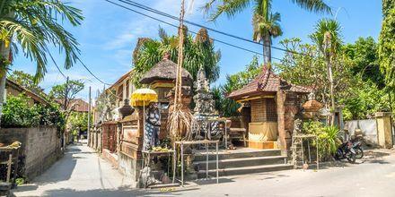 Sanur på Bali.