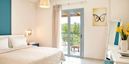 Tvårumslägenhet på hotell Sappho i Parga.