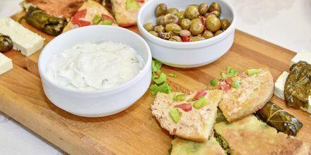 Maten i Albanien bjuder på allt från fisk och skaldjur till enklare lokala rätter.