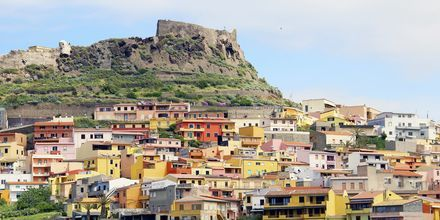 Castelsardo på Sardinien.