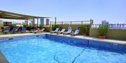 Poolen på hotell Savoy Central i Bur Dubai , Förenade Arabemiraten.
