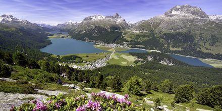 Vackra schweiziska landskap.