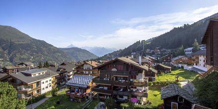 Zermatt ligger i den schweiziska kantonen Valais.