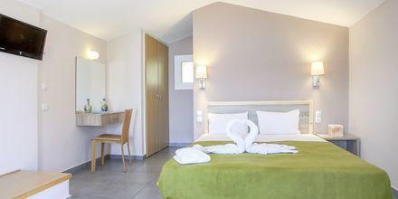 Renoverad enrumslägenhet på hotell Scorpios på Lefkas.
