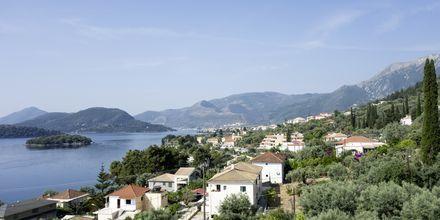 Utsikt från hotell Scorpios.