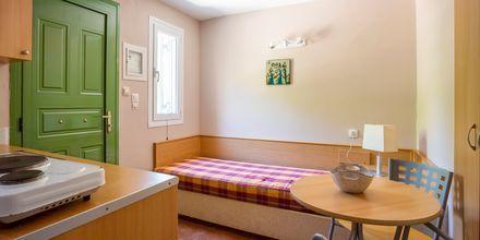 Enrumslägenhet i etage på hotell Scorpios på Lefkas.