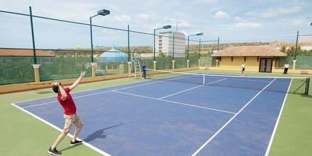Tennis på hotell Seahorse Resort & Spa i Phan Thiet, Vietnam.